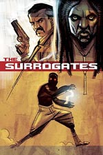 Surrogates with Bruce Willis
