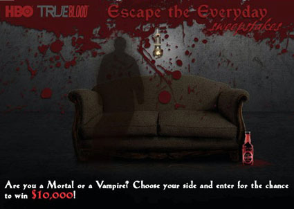 HBO True Blood Escape the Everyday Sweepstakes
