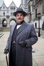 David Suchet as Agatha Christie's Hercule Poirot