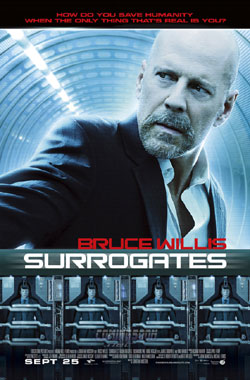 Poster: Surrogates with Bruce Willis